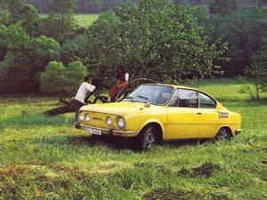 Автомобиль Шкода 110 R