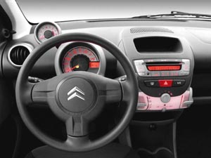 Автомобиль Citroen Ц1