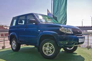 Машина UAZ Patriot Sport