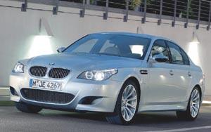 Автомобиль BMW пятой серии