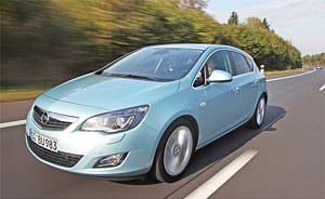 Новый Opel Астра