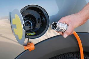 Заправка электромобиля